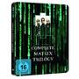 Blu-ray Trilogia Matrix - Steelbook - Leg Em Português