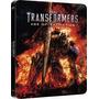 Transformers, A Era Da Extinção - Steelbook Blu Ray 3d + 2d