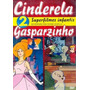 Dvd Cinderela + Gasparzinho, Infantil / Animação, Original