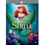 Dvd Disney Pequena Sereia - Edição Diamante + Poster 60 X 90