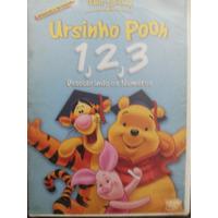 Dvd Ursinho Pooh 1 2 3 Descobrindo Os Numeros