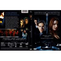 Dvd Sociedade Secreta Ill, Suspense, Original