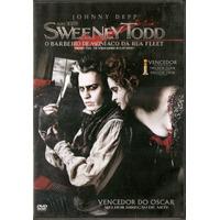 Dvd O Barbeiro Demoníaco Da Rua Fleet - Sweeney Todd - Novo*