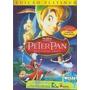 Peter Pan - Edição Platinum Dvd Duplo Com Luvas