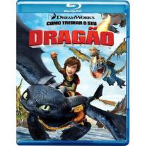 Como Treinar Seu Dragão Blu-ray Seminovo
