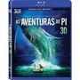 Blu-ray 3d + 2d: As Aventuras De Pi - Original Novo Br Duplo