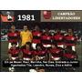 Dvd Box C. R. Flamengo Campeão Libertadores E Mundial 1981