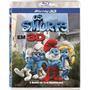 Blu Ray 3d Os Smurfs - O Filme (semi Novo)