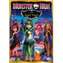 Monster High - 13 Monster Desejos - Dvd - Novo