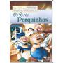 Dvd Os Três Porquinhos Curtas Da Disney Original Lacrado
