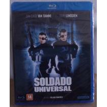 Blu Ray Soldado Universal 1, Van Damme, 1992, Lacrado