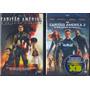 Dvd Marvel Lote C/ Capitão América 1 E 2 Original Br Lacrado