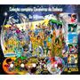 Cavaleiros Do Zodiaco Box De Luxo + Brindes + Frete Gratis