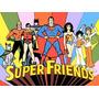 Coleção Super Amigos Completo 161 Desenhos 17 Dvds