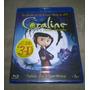 Blu-ray Coraline E O Mundo Secreto 2d/3d (lacrado)