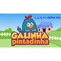 Galinha Pintadinha 1,2, 3 E 4 + Peppa Pig (brinde)