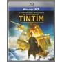 042 Fdv- 2012 Dvd Filme- As Aventuras De Tin Tim- Blu-ray 3d