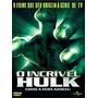 Dvd O Incrivel Hulk Como Nasceu A Fera Original Raridade