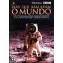 Dvd - Dias Que Abalaram O Mundo - Chegada Do Homem A Lua
