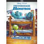 Dvd Original Universidade Monstros Disney Pixar