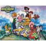 Dvd Digimon 5 Temporadas Dubladas + Filme + Frete Grátis