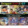 Dragon Ball Z Gt E Classico Coleção Completa Dvd