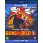 Blu-ray Bons De Bico 2d / 3d Original Br Animação