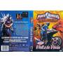 Dvd Power Rangers Tempestade Ninja: A Volta Do Trovão