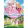 Dvd Original Barbie E Suas Irmãs Em Uma Aventura De Cavalos