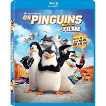 Os Pinguins De Madagascar: O Filme (blu-ray Lacrado)