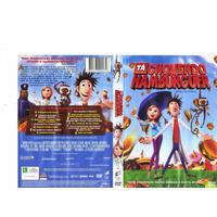 Dvd Tá Chovendo Hamburguer, Desenho Animação, Original