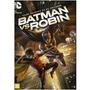 Dvd Batman Vs Robin - Filme Animado Da Dc Universe - Lacrado