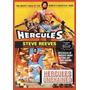 Coleção Filmes Épicos De Hércules, Golias E Maciste (dvd)