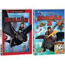 Dvd Como Treinar O Seu Dragão 1 E 2 - Original Lacrado