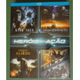 Box Blu-ray 4 Filmes: Star Trek Transformers Gi Joe Cowboys