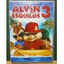Alvin E Os Esquilos 3 Dvd Original Lacrado