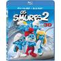 Os Smurfs 2 Bluray 3d + 2d Novo E Lacrado
