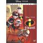 Dvd Os Incríveis Disney Pixar Original Lacrado
