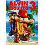 Alvin E Os Esquilos 3 Animação Dvd Original Novo Lacrado