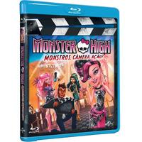 Monster High: Monstros, Câmera, Ação! (blu-ray Lacrado)