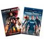 Dvd Combo: Capitão America 1 E 2 (2 Filmes - Não É Box)