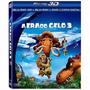 Combo Blu-ray 3d + Blu-ray + Dvd A Era Do Gelo 3 - Lacrado