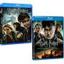 Harry Potter Relíquias Da Morte Partes 1 E 2 - Blu-ray