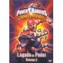 Dvd Power Rangers Dino Trovão - Legado De Poder - Vol. 2 (se