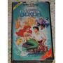 Vhs A Pequena Sereia Classico Walt Disney 1º Edição Original