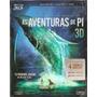 Blu Ray 3d + Blu Ray + Dvd As Aventuras De Pi 3d - Novo***