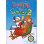 O Natal Dos Simpsons 2 - 4 Episódios Dvd Lacrado