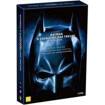 Dvd Trilogia Batman O Cavaleiro Das Trevas- 3 Discos