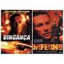Dvd Vingança + Dvd Inferno. Van Damme. Originais.
