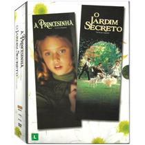 Dvd Jardim Secreto + A Princesinha - Duplo Lacrado Original